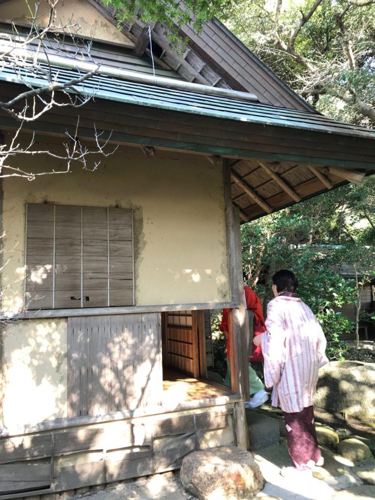 山本条太郎別荘増築茶室