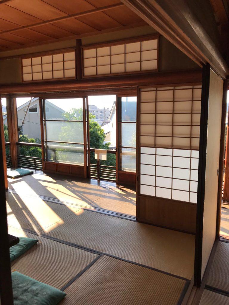 藤瀬脇村邸二階