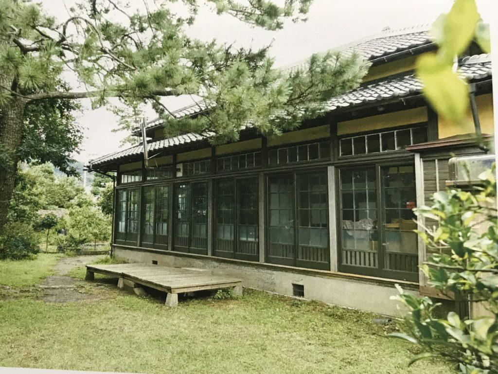 長島邸東側