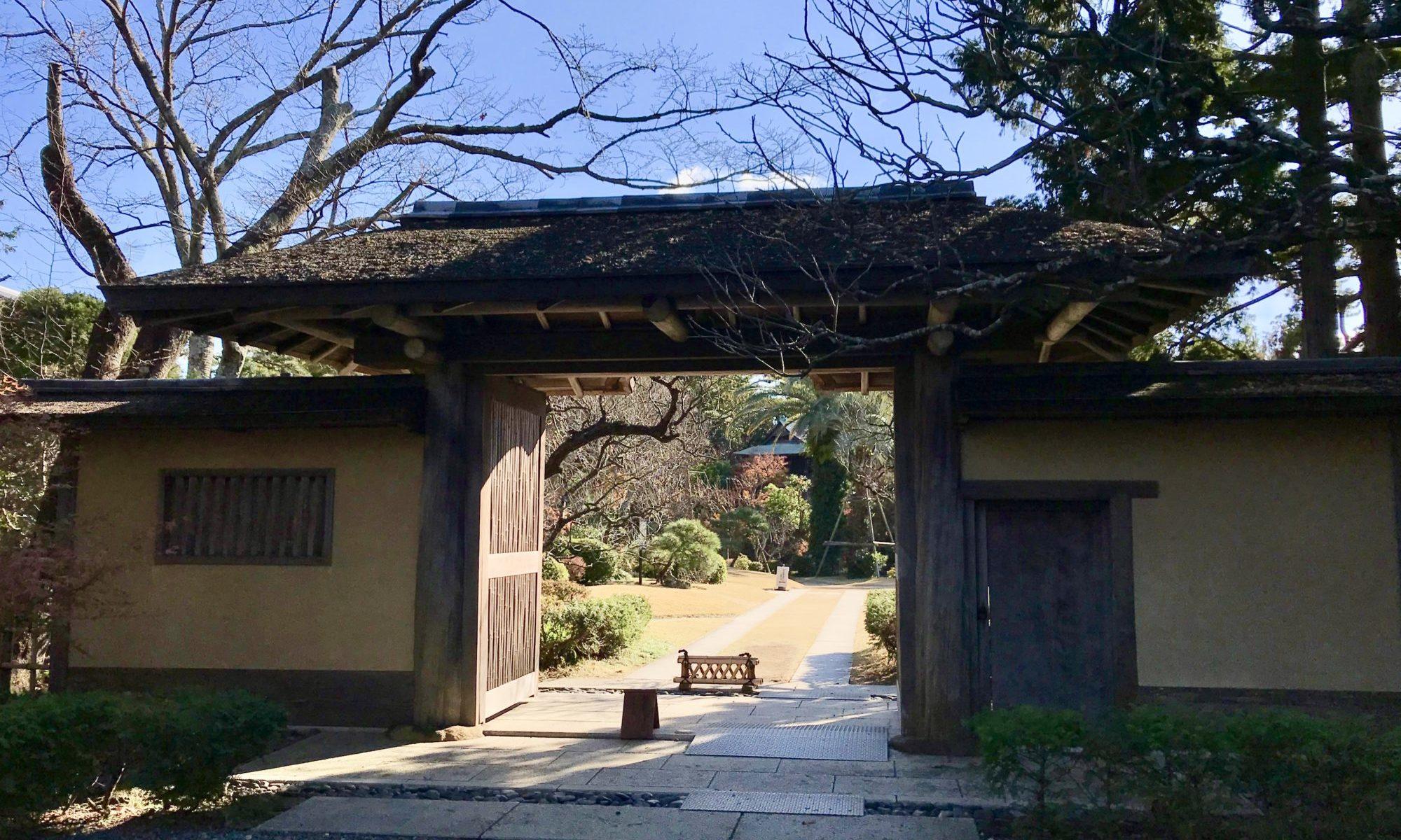 吉田茂邸門