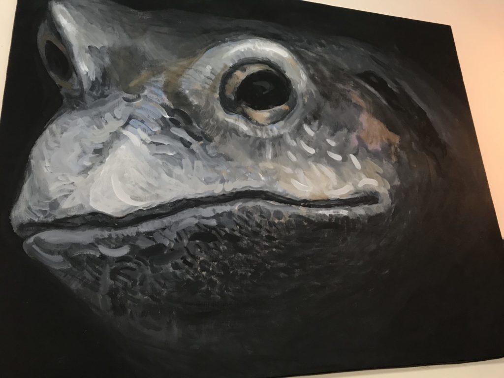 カエル名画