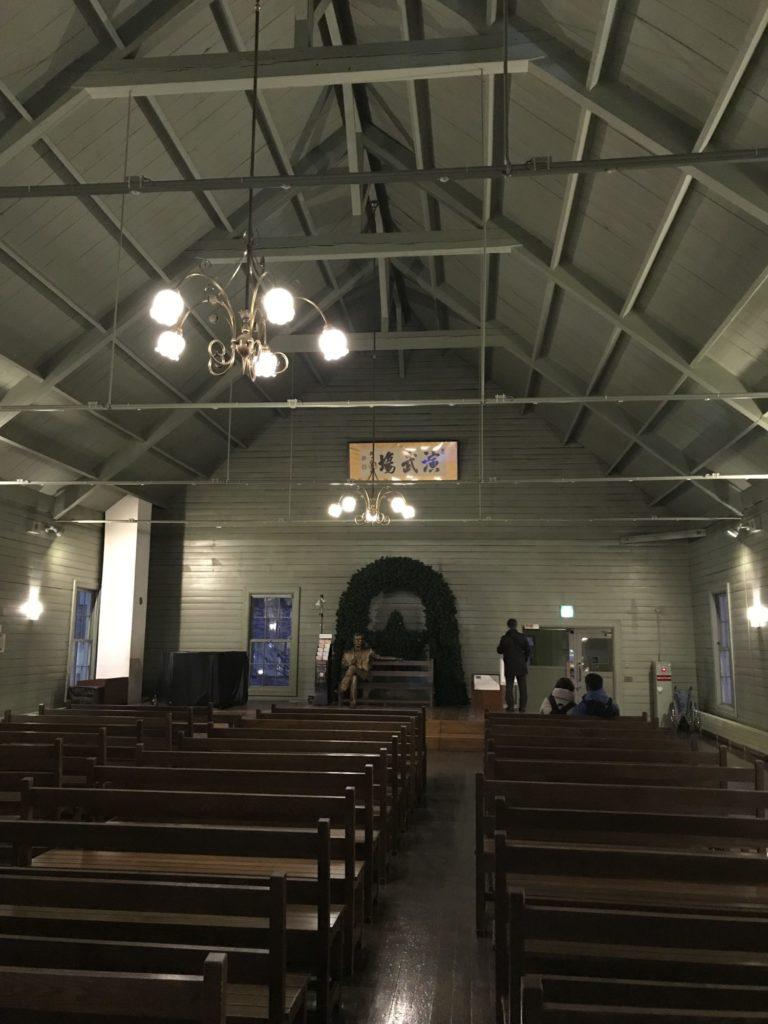 時計台 講堂