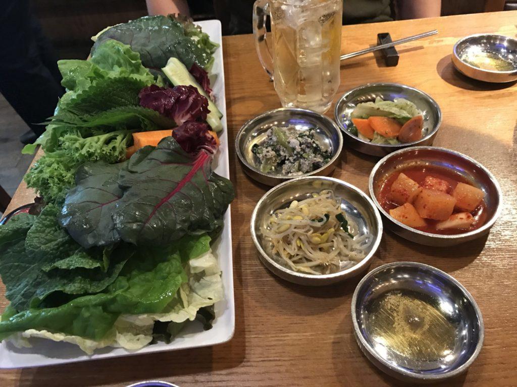 野菜サムギョプサル