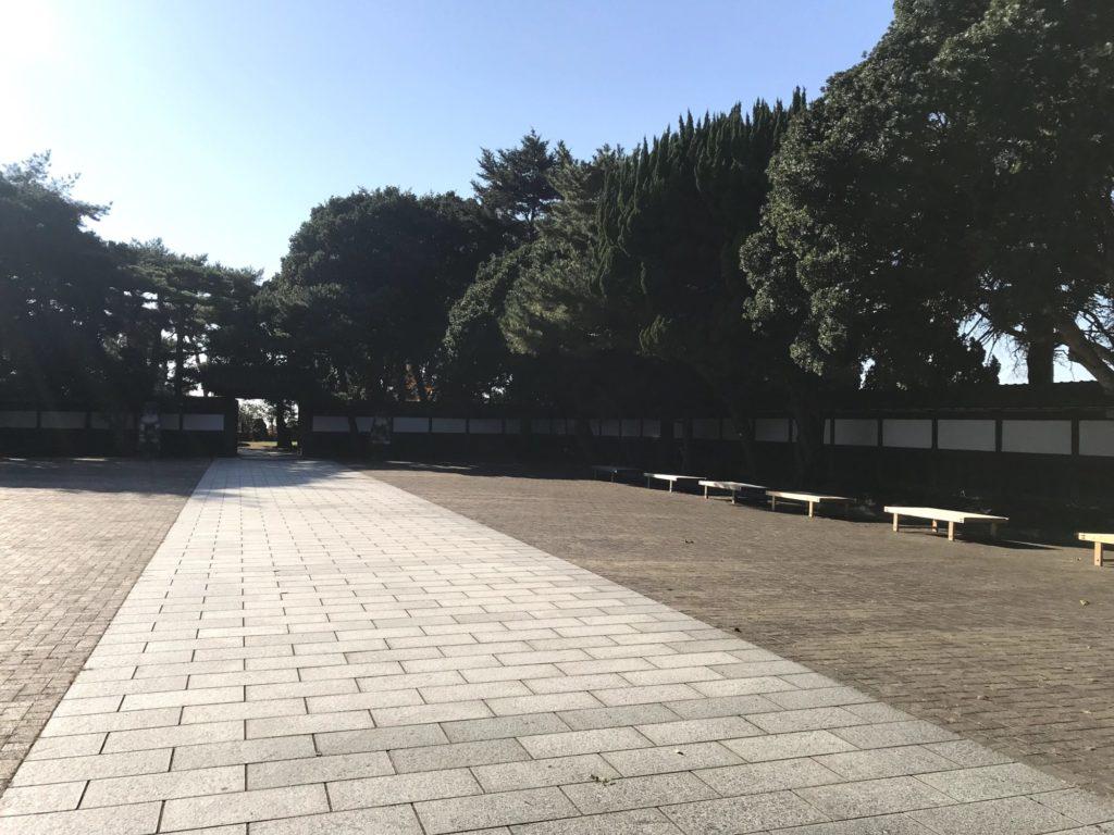 須磨離宮公園 中門