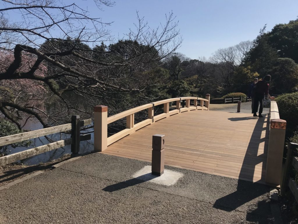 新宿御苑 橋