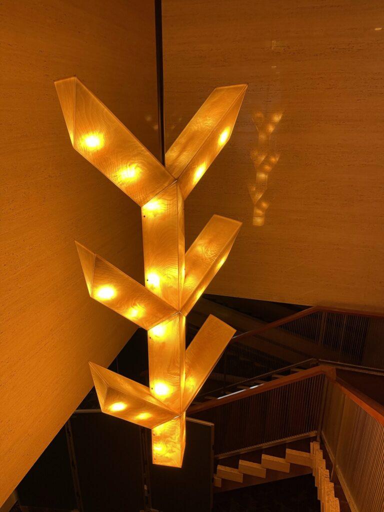 元 ホテルオークラ照明